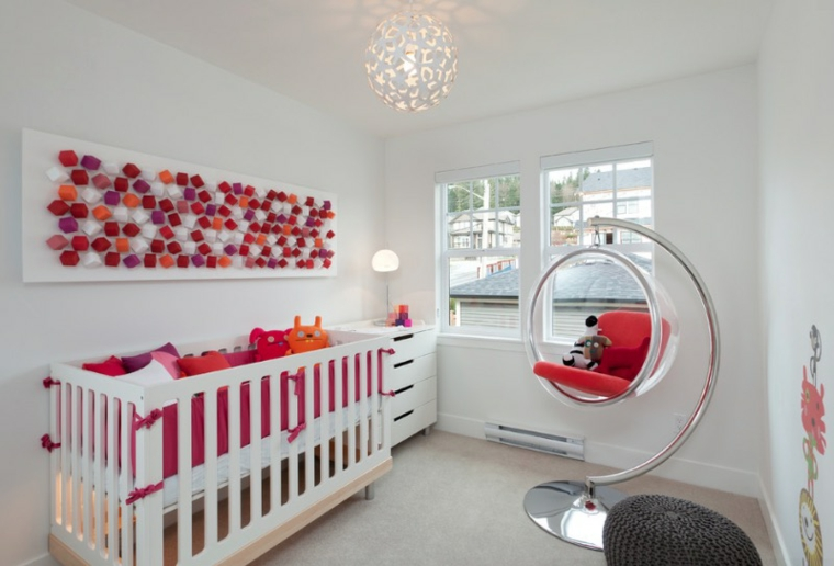 chambre-bébé minimaliste