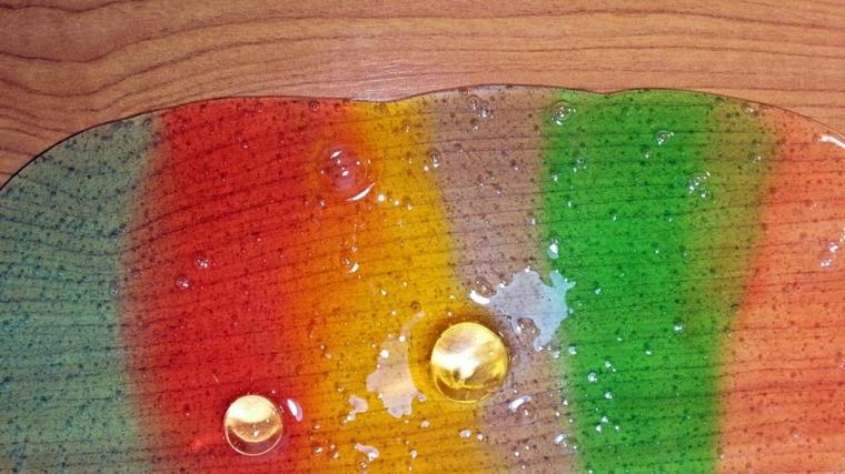 mucus de gorille aux couleurs