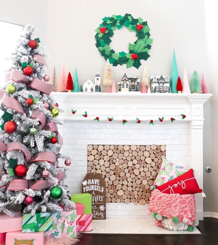comment faire une guirlande de Noël des idées originales