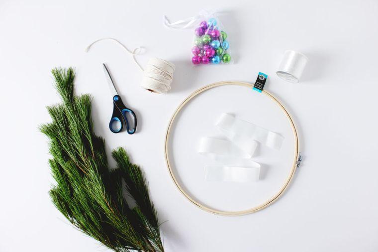 diy-corona-navidad-ideas-estilo-scandinavo-materiales