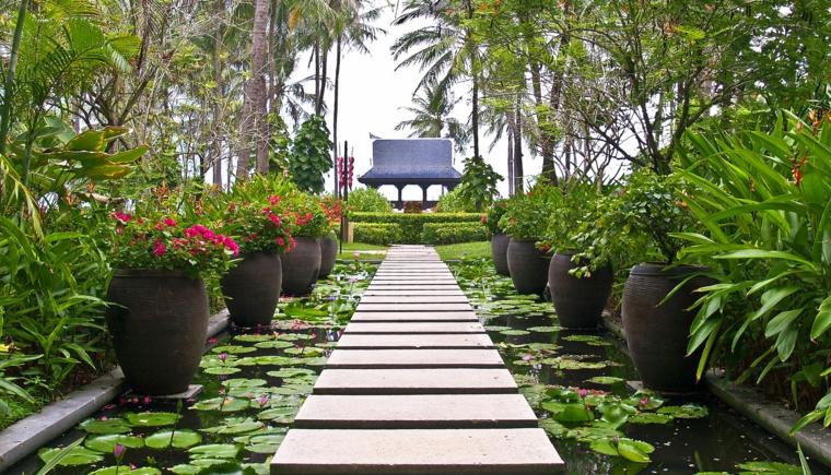 comment concevoir des jardins