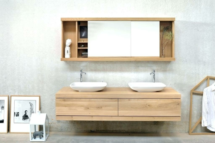 salle de bain conçoit des couleurs claires