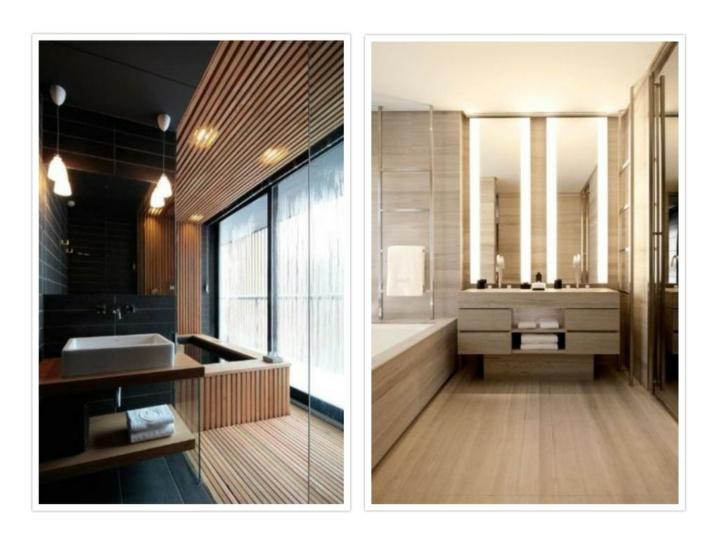 salle de bain conçoit des effets modernes créatifs