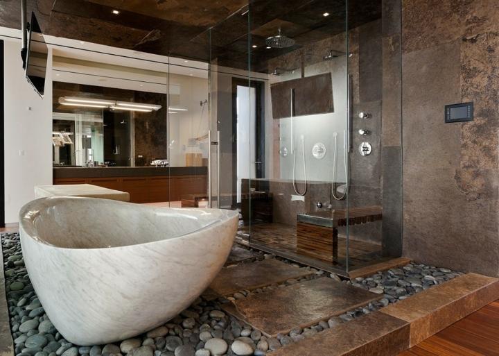escalier-interieur-salle de bain-roches