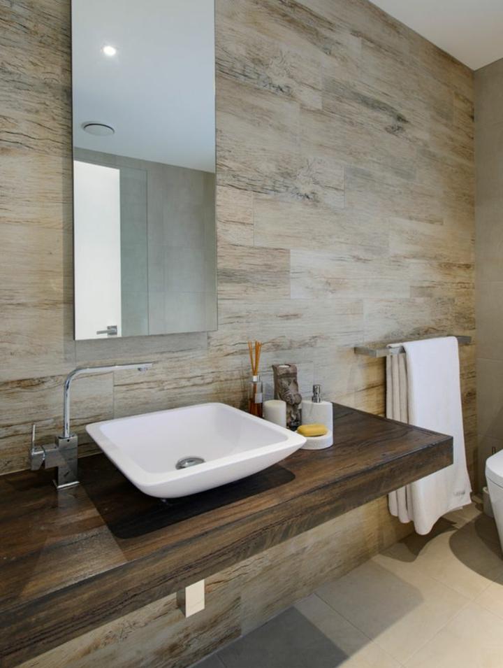 bois-idée-moderne-salle de bain