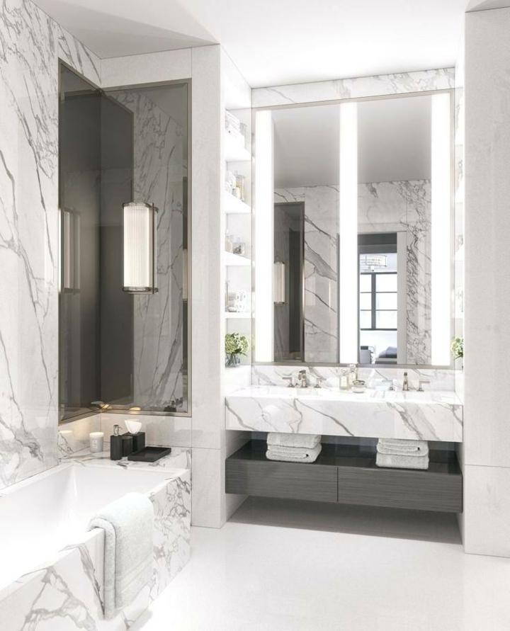 marbre-contraste-murs-douche