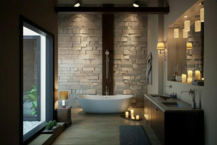 pierre-bois-combiné-salle de bains