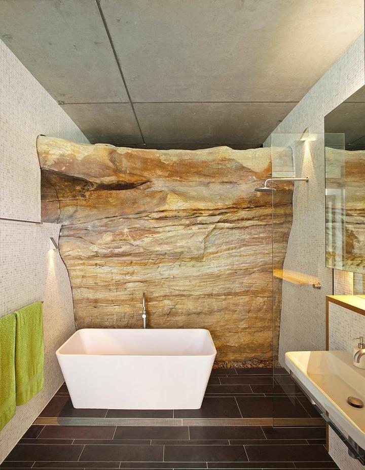 salle de bain mur-exposée
