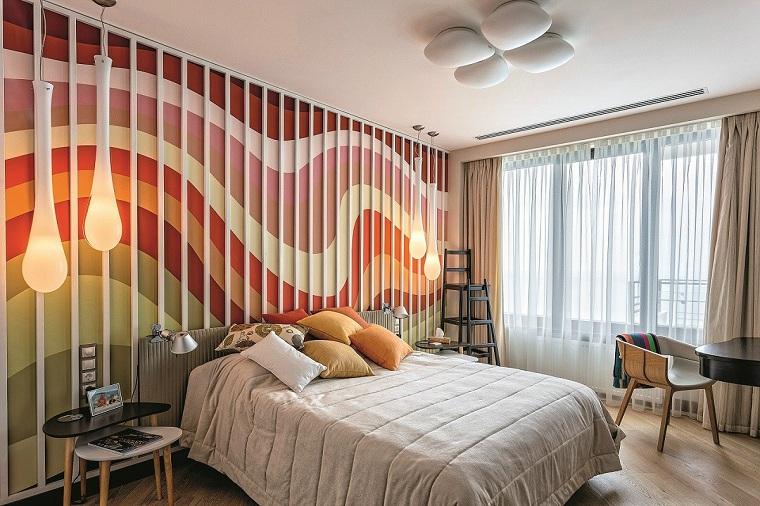 idées de chambre aux couleurs vives