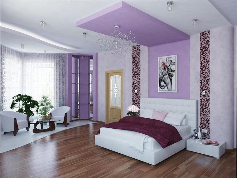 design-de-chambres-peint-blanc-rose