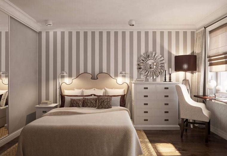 design-de-chambres-peint-coloré-rayures verticales