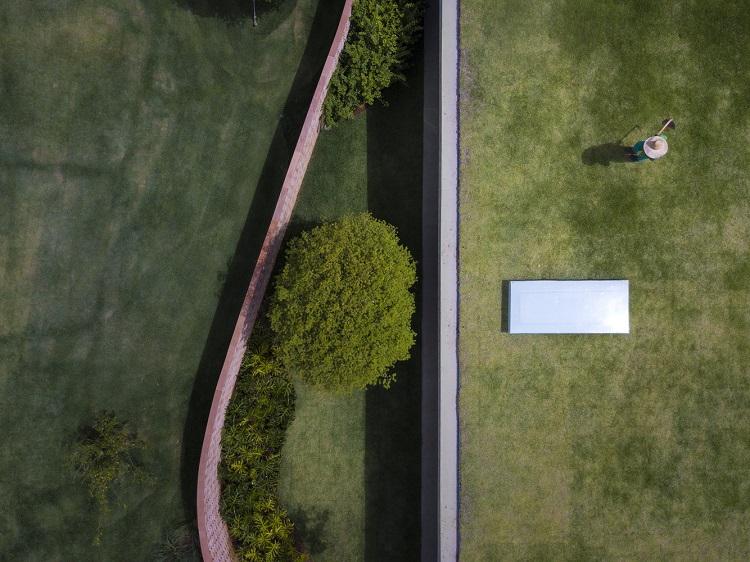 vue aérienne conception écologique