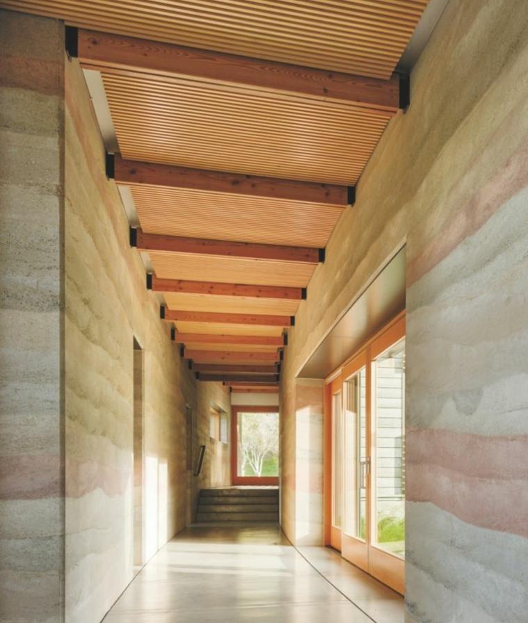 architecture-moderne-terre-comprime