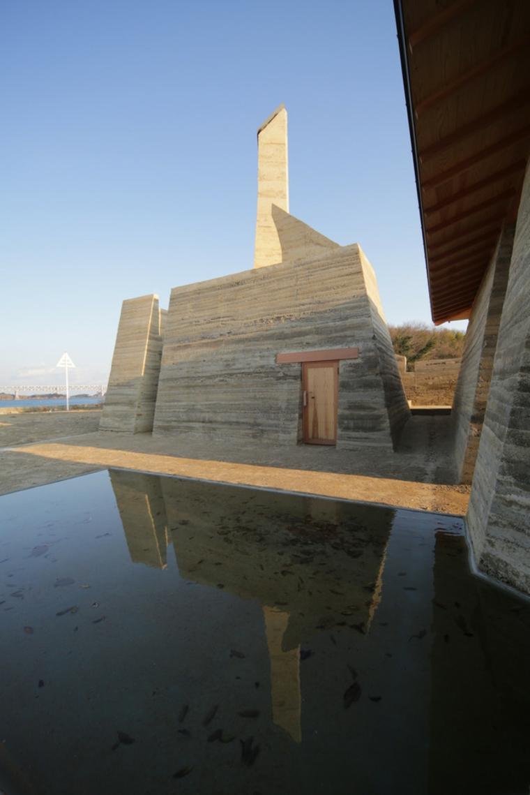Toshihiro-Misaki, maison-de-terre-comprimée