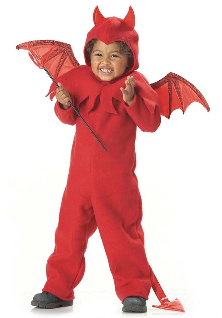 costumes dhalloween pour enfants-diable