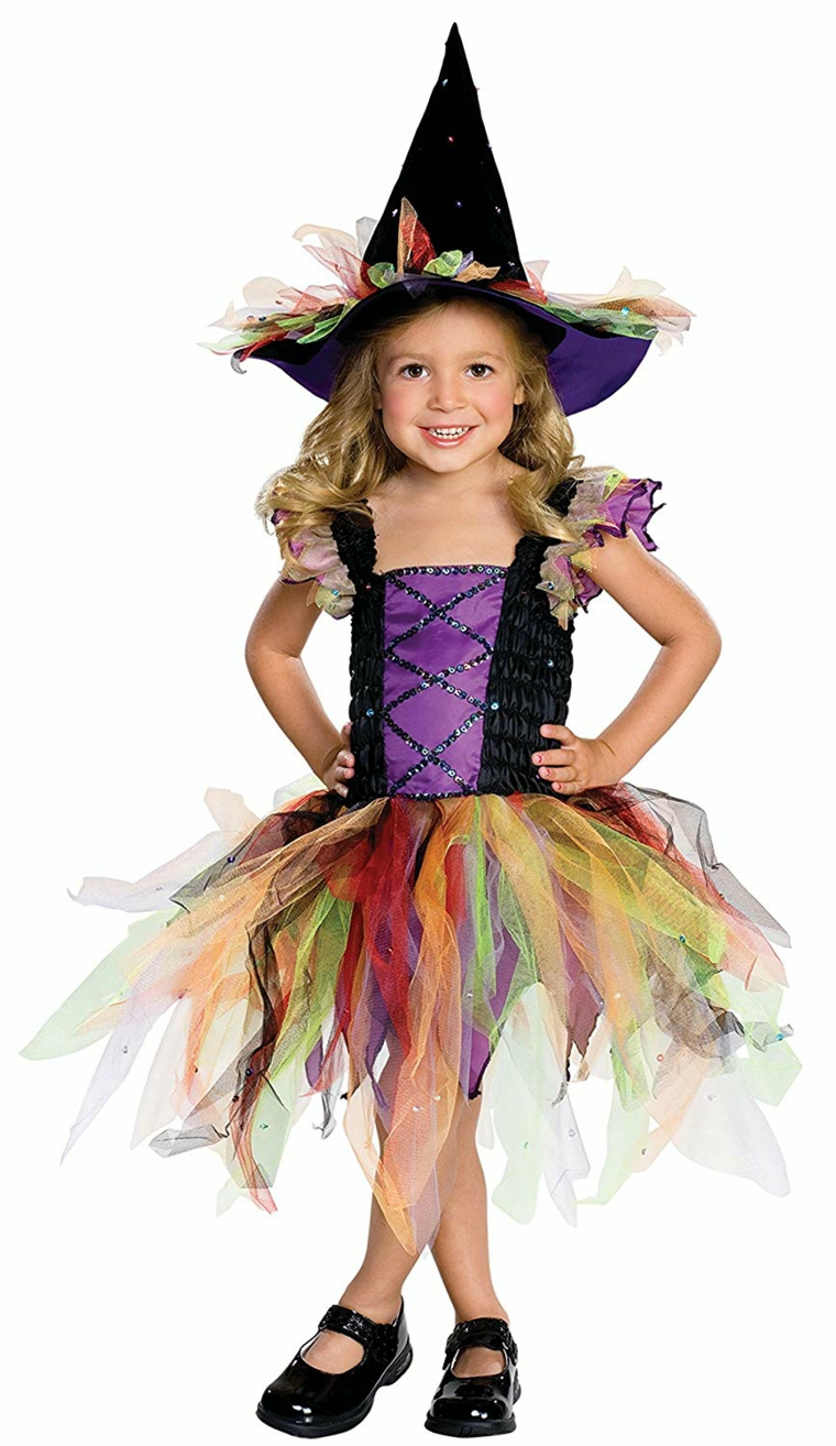 beaux costumes pour filles-sorcière