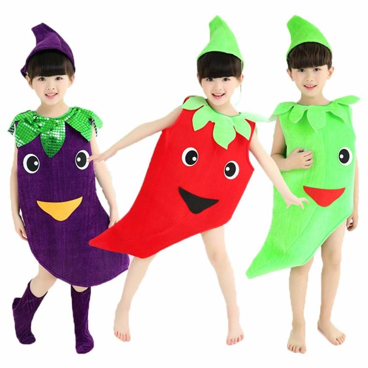 costumes pour les filles-halloween-fruits