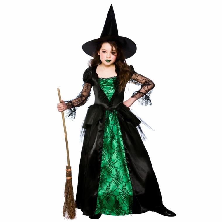 costumes pour filles-halloween-sorcière