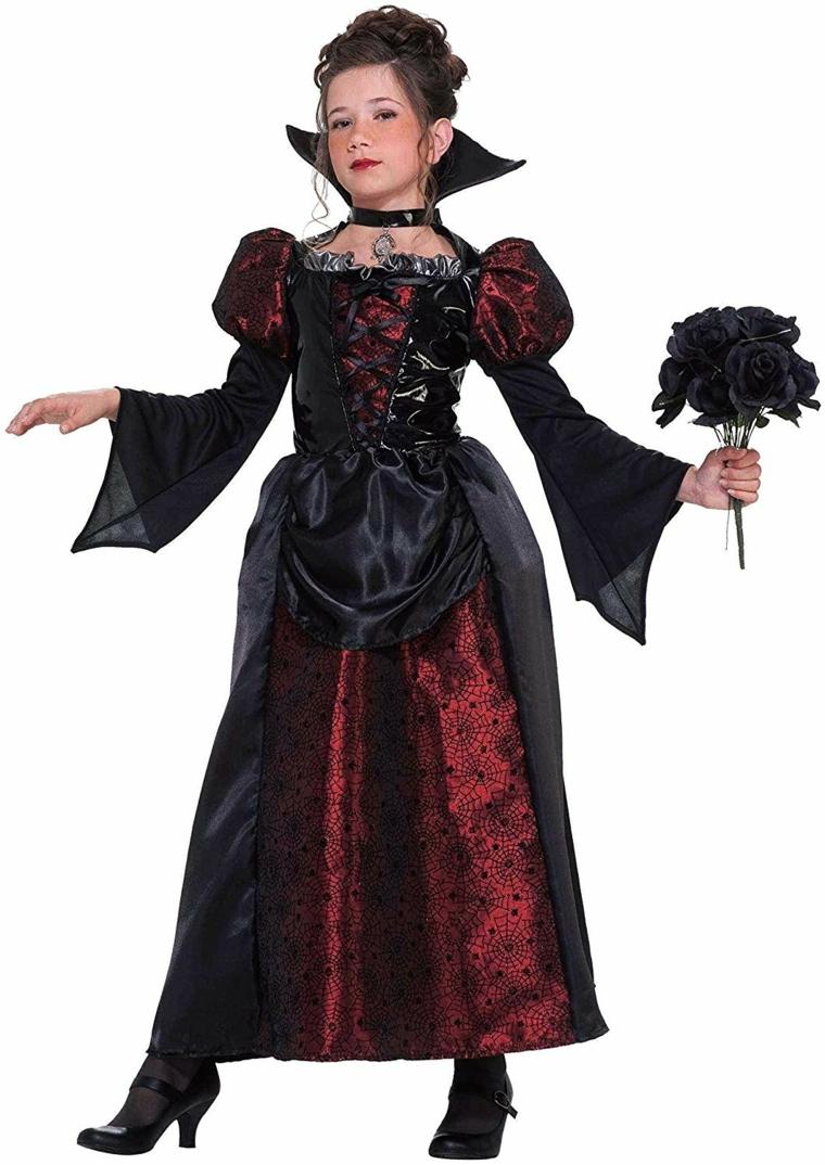costumes pour halloween ninas-sorcière