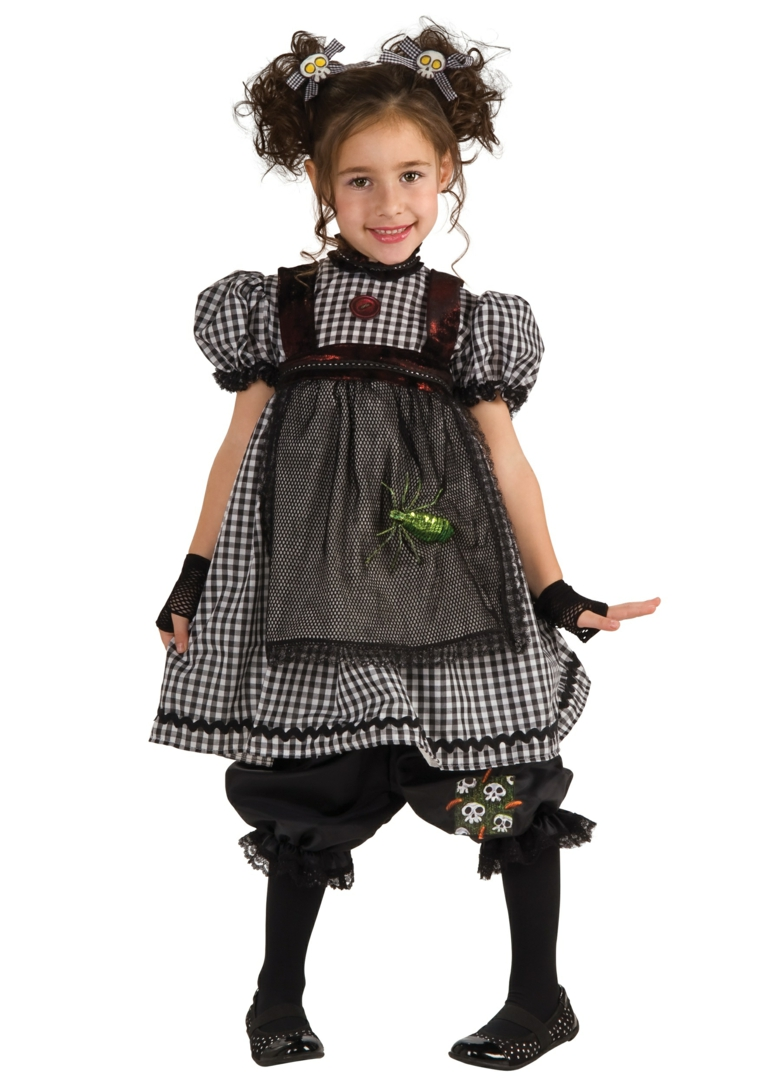 costumes pour filles-halloween-doll