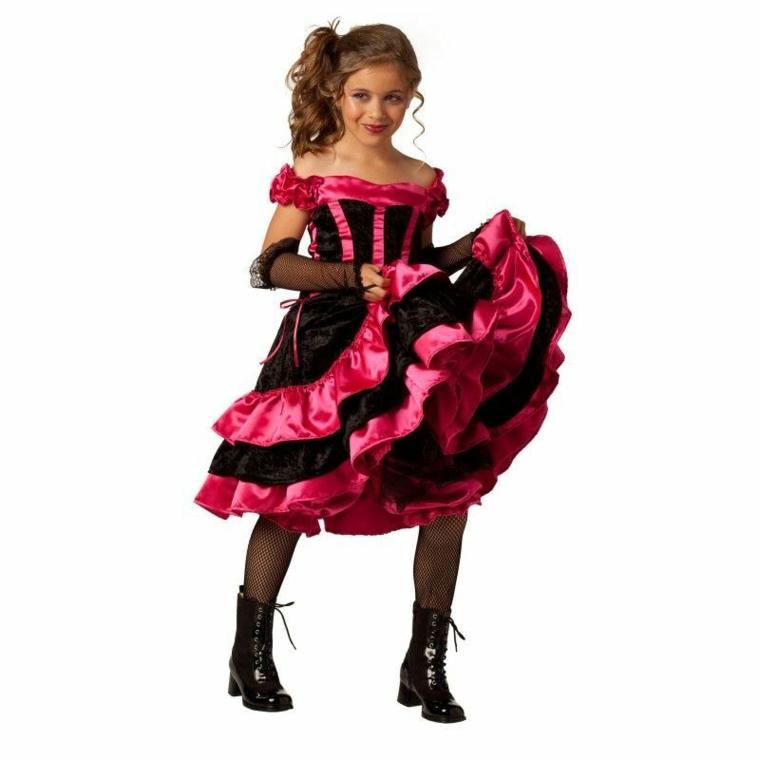 costumes pour filles-halloween-danseur