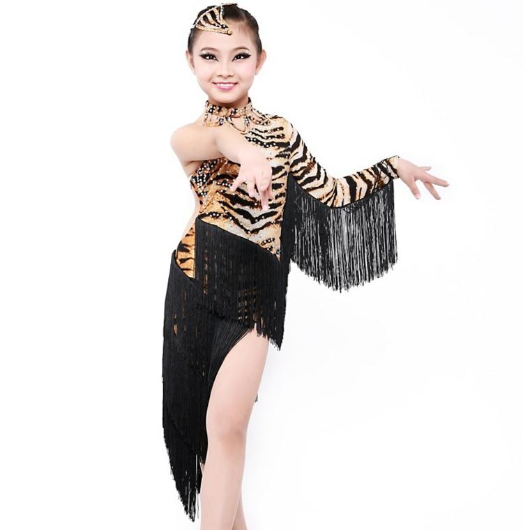 costumes pour enfants halloween-danseuse-latina