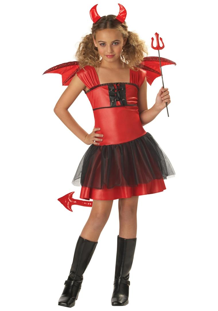 costumes pour filles-halloween-diabla