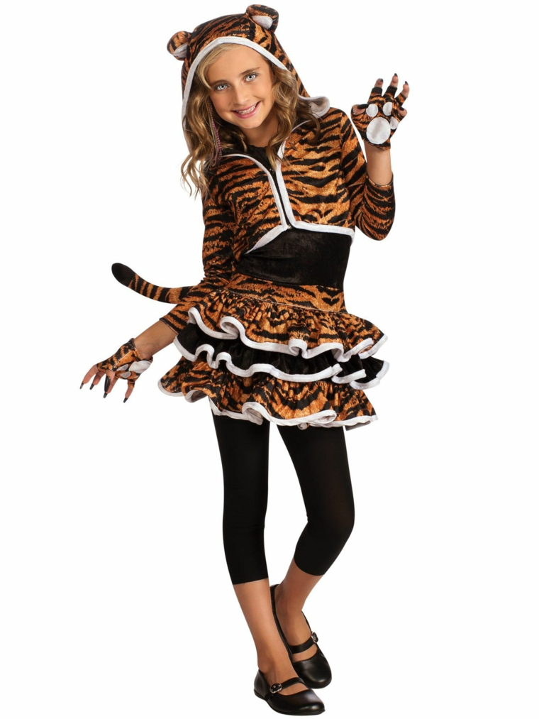 costumes pour filles halloween-animaux