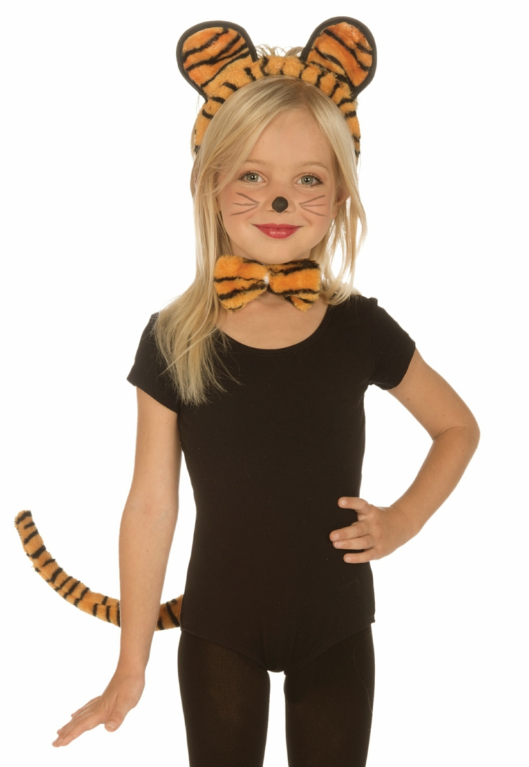 costumes pour filles halloween-chat