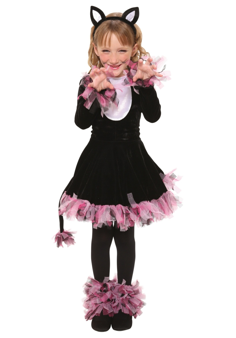 costumes dhalloween pour les filles-chat
