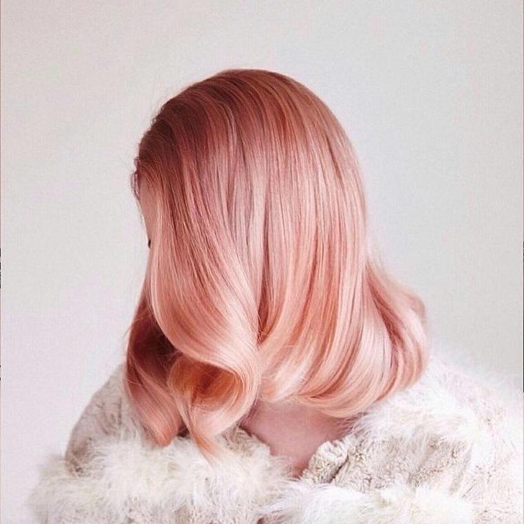 couleurs de cheveux de la mode 2018-ideas-rose-gold-ideas-girls