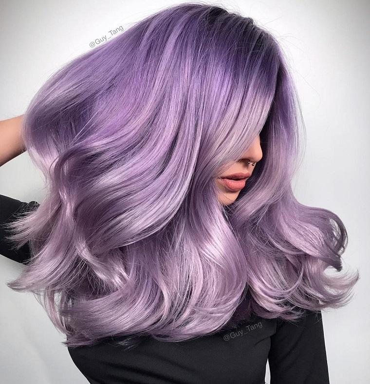 couleurs-de-cheveux-de-mode-2018-idees-purpura-bello