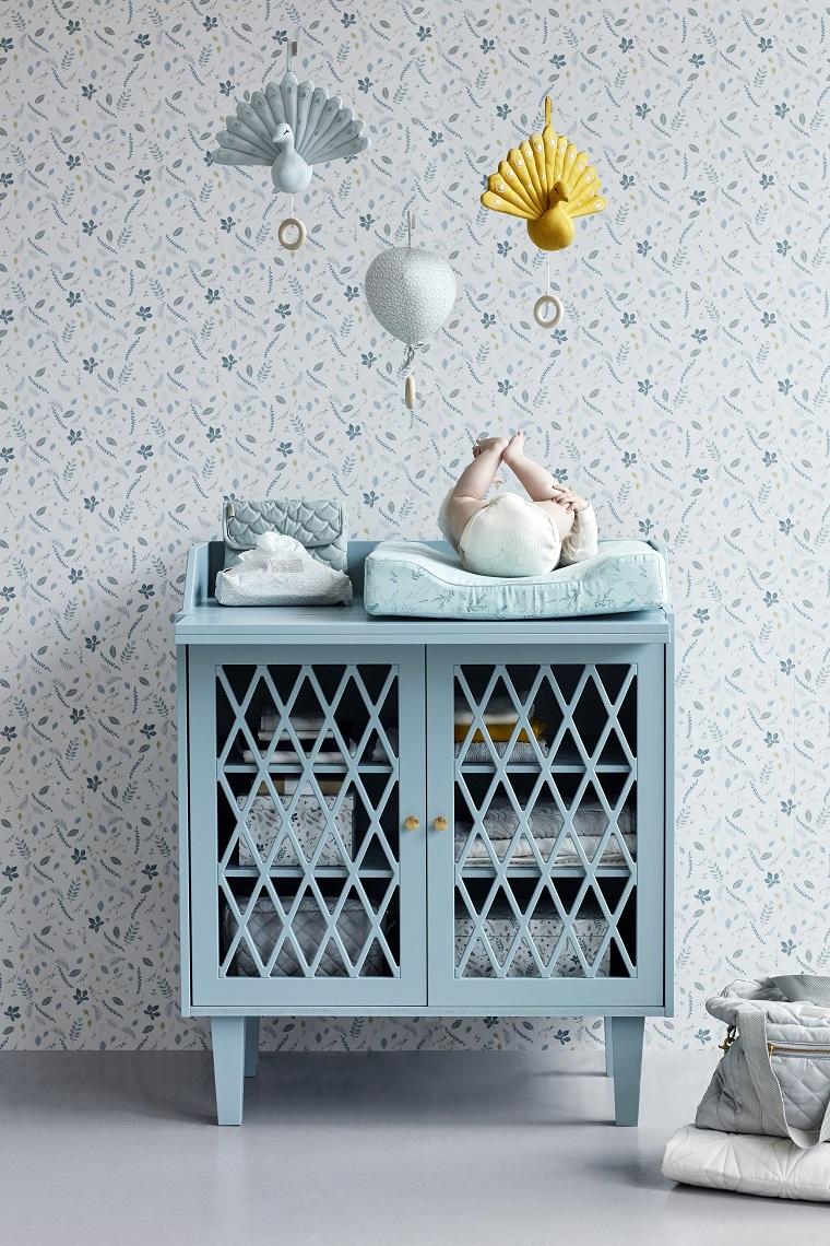 couleur bleue zlaro dans la décoration intérieure