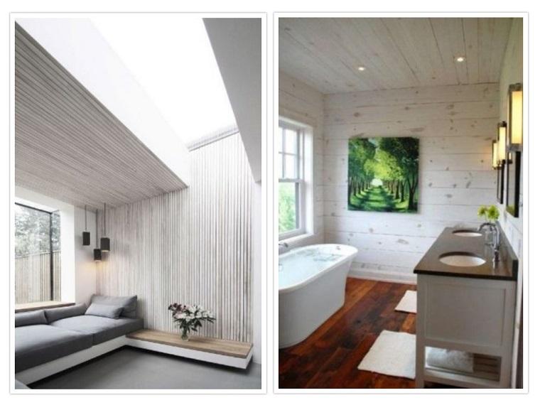 couleurs pour le style des murs blancs
