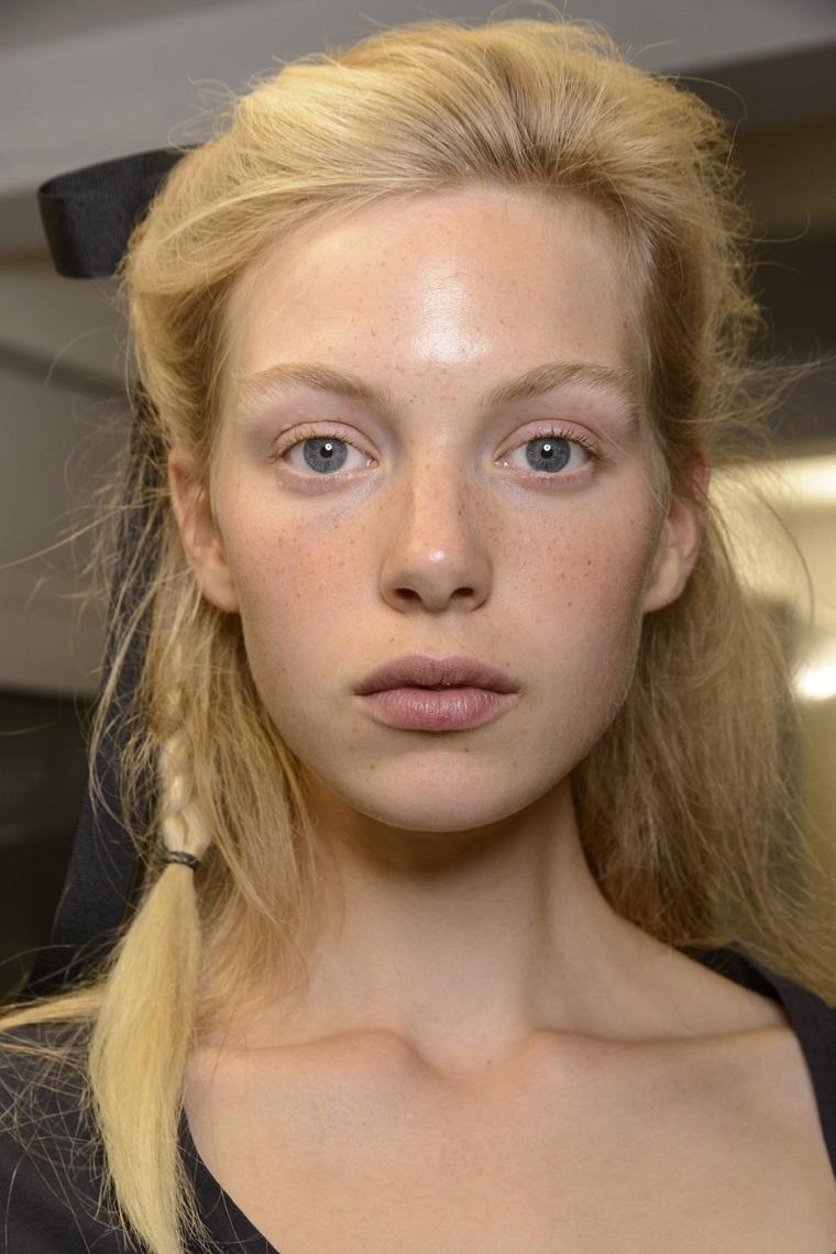 coupes de cheveux-couleur-blonde-blanchie-John-Galliano