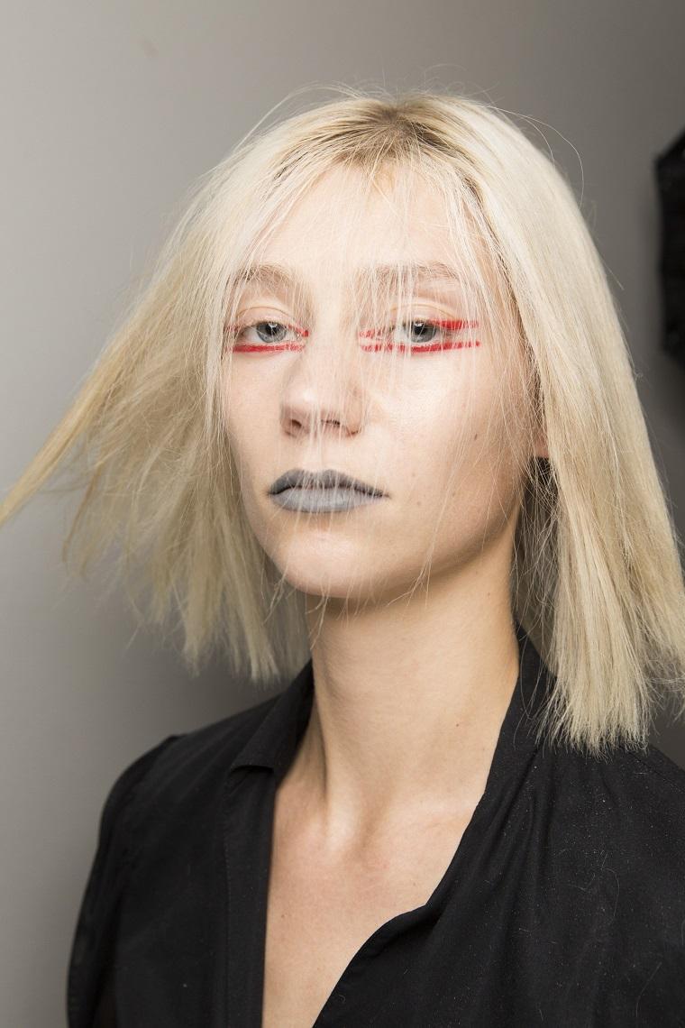 coupes de cheveux-couleur-blonde-modèle blanchi