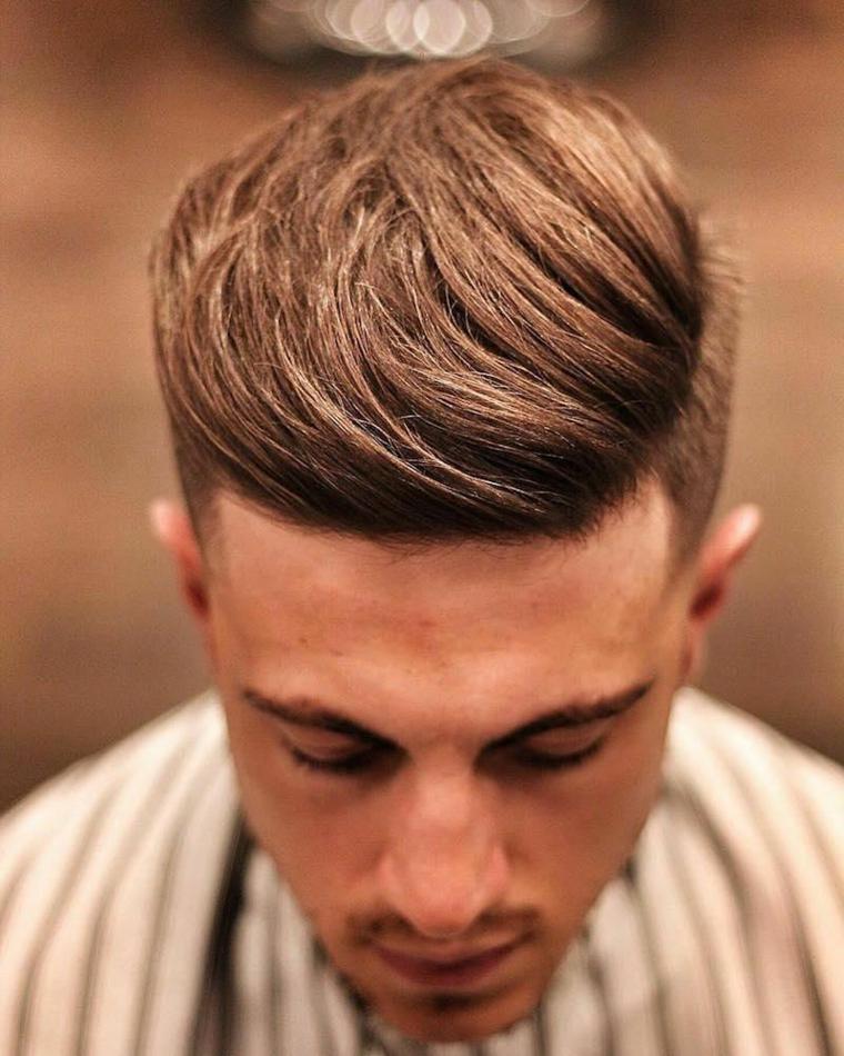 cheveux coupés-options-mâles
