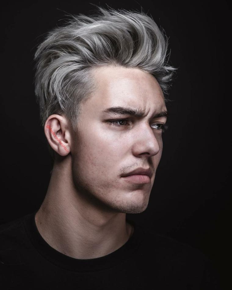 cheveux-coupe-homme-couleur-platine