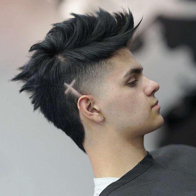 coupes-de-cheveux-homme-2019-croix-style-mode