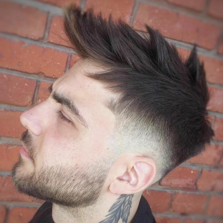 coupes de cheveux-homme-2019-fade-low