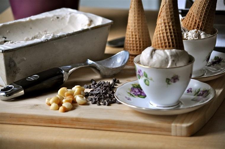 crème glacée-maison-idées-recettes-vanille-noix
