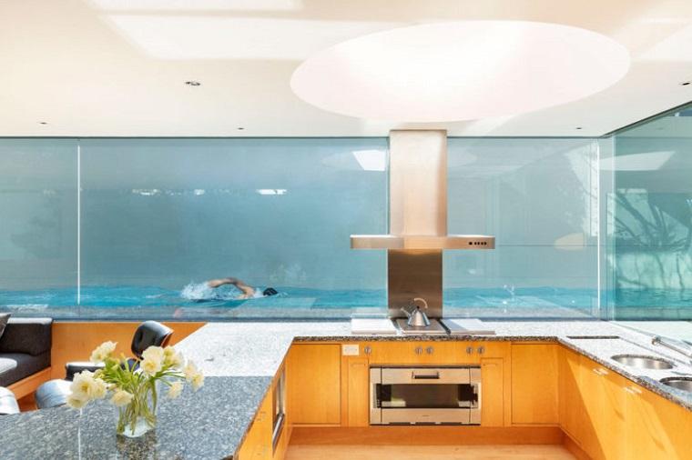 verre effet voir les cuisines