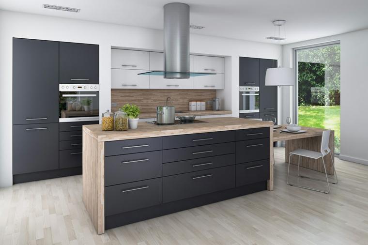 meubles pour cuisine intégrale moderne