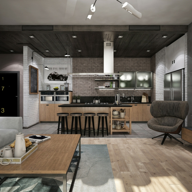 cuisine-american-modern decoration