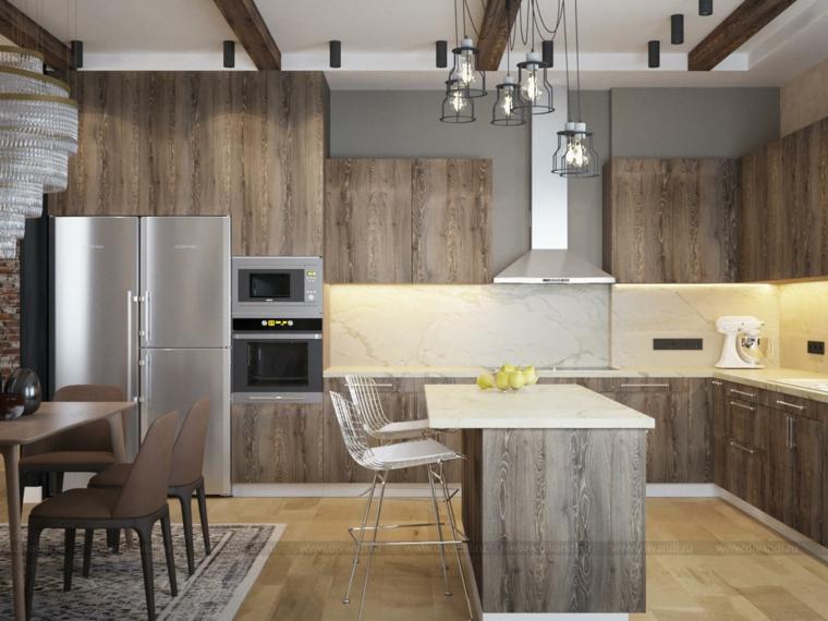meubles de cuisine modernes