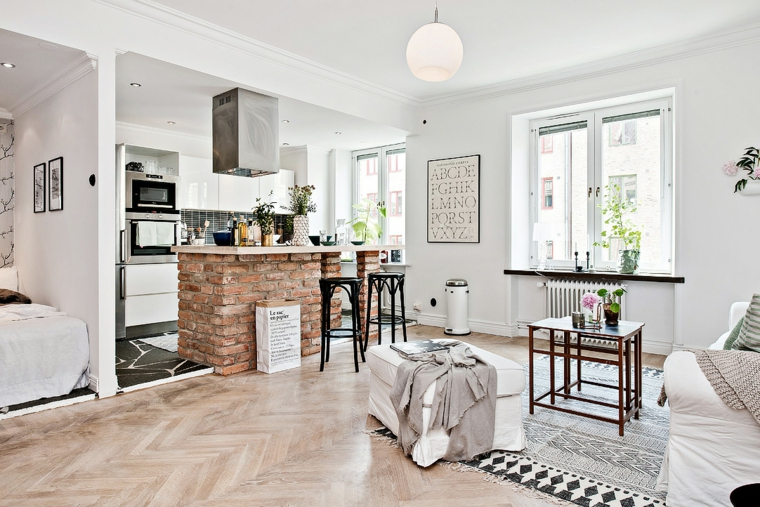 meubles pour cuisine intégrale-blanc