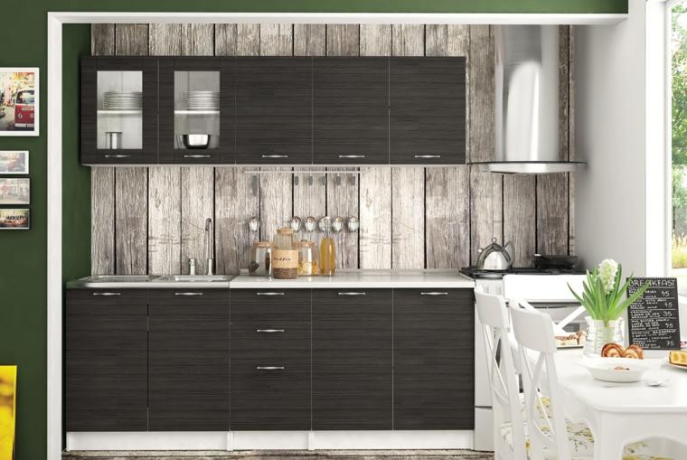 petite kitchenette moderne