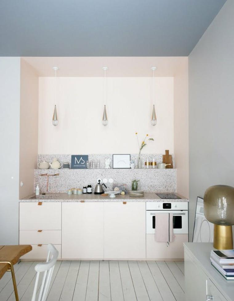 Voir votre cuisine à travers des lunettes roses