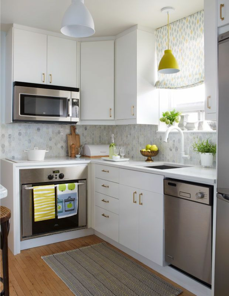 Dessins de petites cuisines