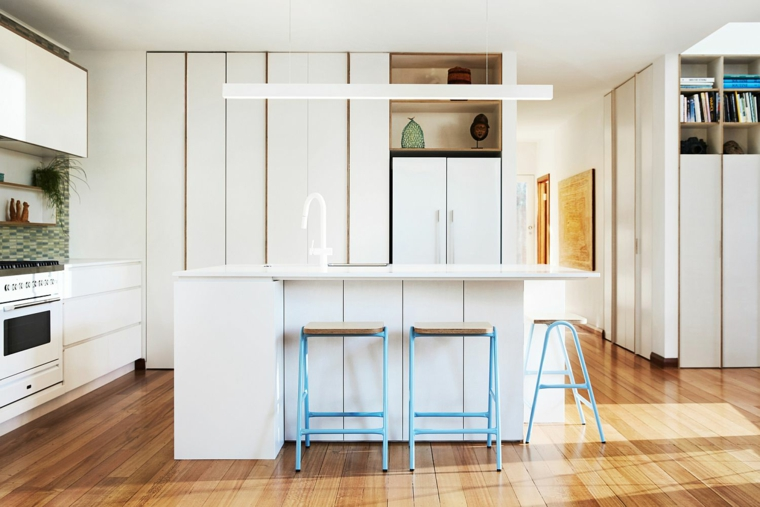 design de cuisine contemporaine avec îlot